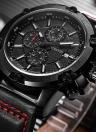 Men's Military Luminous Quartz Wrist Watch