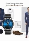 TEVISE Brand Luxury Gold relógio mecânico automático para homens