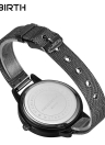 REBIRTH Marca Modern Simplicity Stainless Steel Quartz Bracelet Ladies Watch