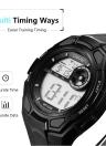 DIRAY 50M Водонепроницаемый большой набор Цифровые мужские часы