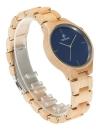 Redear Fashion Casual Montre Hommes Quartz Watch Montre bracelet en bois