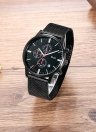 Bolisi Fashion Casual Quartz Watch 3ATM Water-resistant Watch Men Wristwatch