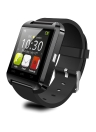 2G Smart Watch MTK6261 1.44in LCD Écran Tactile BT 3.0 Podomètre Message Chronomètre Calendrier Sédentaire Rappel Smartwatch pour Android 3.0