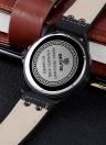 Reloj impermeable del reloj 3ATM del cuarzo de la manera de la manera de SKONE