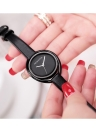 REBIRTH Fashion Casual Quartz Watch 3ATM Reloj resistente al agua