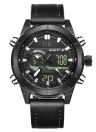 RISTOS Sport Quartz Digital Watch 3ATM Water-resistant Men Watch