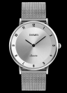 Reloj de pulsera resistente al agua SKMEI Fashion Casual Quartz Watch 3ATM resistente al agua