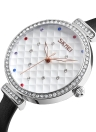 Reloj de cuarzo casual SKMEI Fashion 3ATM Relojes de cuarzo resistente al agua