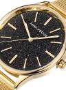 Mini Focus Luxury Quartz Women Mesh Stainless Steel Watch