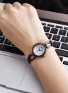 REBIRTH Moda Luxo Quartz Mulheres Relógio de pulso casual Relógio à prova de água Feminino Feminino Relogio