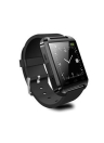 2G Smart Watch MTK6261 1.44in LCD Touch Screen BT 3.0 Fitness Tracker Mensagem Stopwatch Sleep Monitoring Smart Wristwatch para Android 3.0