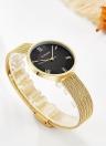 CURREN Fashion Luxury Stainless Steel Women Watches Quartz 3ATM Water-resistant Woman Casual Simple Wristwatch Relogio Feminino