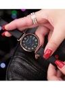 REBIRTH Mode Femmes Montres 1ATM Étanche Quartz Casual Simple Femme Montre-Bracelet Relogio Feminino