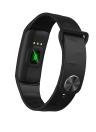 Smart Bracelet IPS Coloré Écran Tactile Fitness Tracker BT 4.0 NRF52832 QFAC CPU Smart Bande / Bracelet Moniteur de Fréquence Cardiaque Surveillance de la Pression Sanguine Podomètre Smart Bracelet