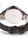 SK Simple Lady orologio cinturino in pelle da polso impermeabile al quarzo quadrante in marmo casual