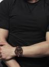 NAVIFORCE correa de silicona de moda deportes reloj de cuarzo resistente a los hombres de los hombres