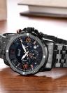 Bolisi Fashion Casual Quartz Watch 3ATM Water-resistant Watch Men Wristwatches Male Relogio Musculino Calendar