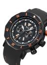Bolisi Art- und Weisebeiläufige Quarzuhr 3ATM wasserbeständige Mann-Uhren
