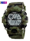SKMEI Waterproof Digital LED Electronic Alarm Chronograph Date Men's  Sports Watch