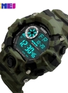 SKMEI Marque numérique LED 50M Water-Proof Sport Hommes Militaire Montres Homme Mode électronique Outdoor Wristwatch Casual Alarm Backlight Chronographe Date Masculino Relogio