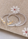 Romacci personnalité Fashion en argent Sterling 925 animaux Cerf cor Antler ouverture réglable doigt bague mariage fiançailles bijoux pour femmes fille
