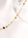 New Fashion Personality Simple Alloy Bright Sequin Women Bracelet