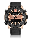NAVIFORCE Sport Quartz Watch 3ATM relógio digital resistente à água