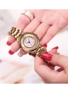 REBIRTH Fashion Casual Quartz Watch Life Water-resistant Watch