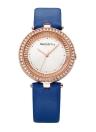 REBIRTH Moda relógios femininos de luxo 1ATM Quartz resistente à água Relógio feminino casual Relogio Feminino