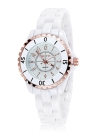 SKONE Gorgeous Elegant Quartz Water Resistant Ceramic Women Wristwatch