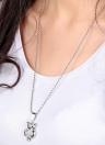 Shinning Fashion Owl pendentif collier chaîne collier Bijoux en strass