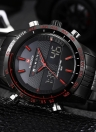 Men's Stainless Steel Water Resistant Wrist Watch