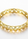 Hollow Nets Brass Bangle Bracelet Fashional Accessories for Women
