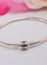 Romacci S925 Sterling Silver Bangle DIY Women Jewelry