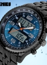 SKMEI High Quality Analog-Digital Double Time Display Watch