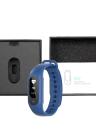 SKMEI BT4.0 Water-Proof OLED écran tactile pression intelligents Sport Montre-bracelet de fréquence cardiaque / Blood / Monitor Sommeil podomètre Calorie Fitness Wristwatch pour IOS et Android Alarme Distance Anti-Perdu + Coffret