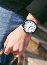 OCHSTIN Montre à quartz imperméable à l'eau de luxe en acier inoxydable pour hommes d'affaires