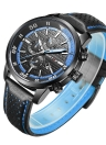RISTOS 2017 Luminous Sports Military Style Men Watch