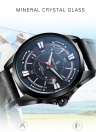 SENORS Fashion Casual 3ATM Water-resistant Watch Men Quartz Watches