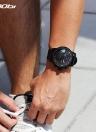 SINOBI Sport Watch 3ATM relógio de quartzo resistente à água homens relógios de pulso