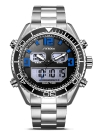 SINOBI Sport Quartz Watch 3ATM Water-resistant Men Watches