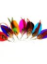 Stylish Long Colorful Feather Cute Chandelier Dangle Earrings