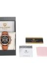 OCHSTIN 2017 Fashion Luxury Genuine Leather Quartz Luminous Men Wristwatch