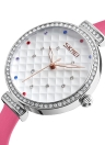 SKMEI Fashion Casual Quartz Watch 3ATM Water-resistant Women Watches