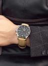 Men's Quartz Perpetual Calendar Watch