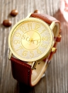 SOXY Business Casual Wrap Wrist Quartz Electronic Watch