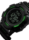 SKMEI 5ATM resistente al agua reloj deportivo hombres relojes digitales retroiluminación reloj