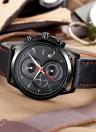Bolisi Fashion Casual Quartz Montre 3ATM Résistant à l'eau Hommes Montres