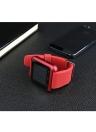 2G Smart Watch MTK6261 1.44in LCD Écran Tactile BT 3.0 Podomètre Message Chronomètre Calendrier Sédentaire Rappel Smartwatch pour Android 3.0