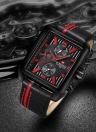 NAVIFORCE Luxury Genuine Leather Quartz Men Watch